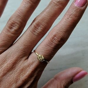 Jewelry - Gold Ring with Rose